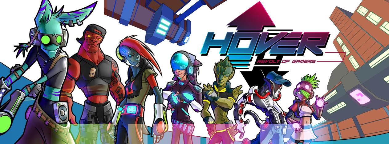 Hover: Revolt of Gamers será jogável na Gamescom 2017 [Switch]