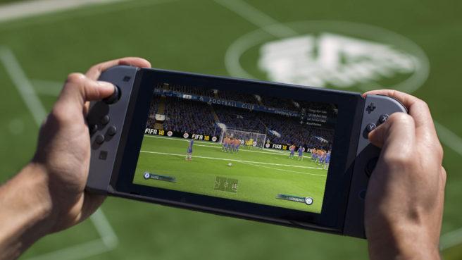 FIFA 18 irá rodar em 60 FPS tanto em modo portátil quanto em Dock