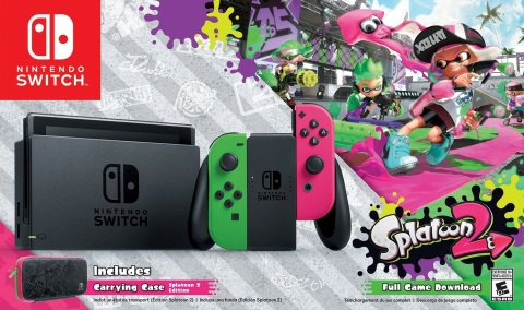 Bundle do Nintendo Switch com Splatoon 2 é anunciado para América do Norte