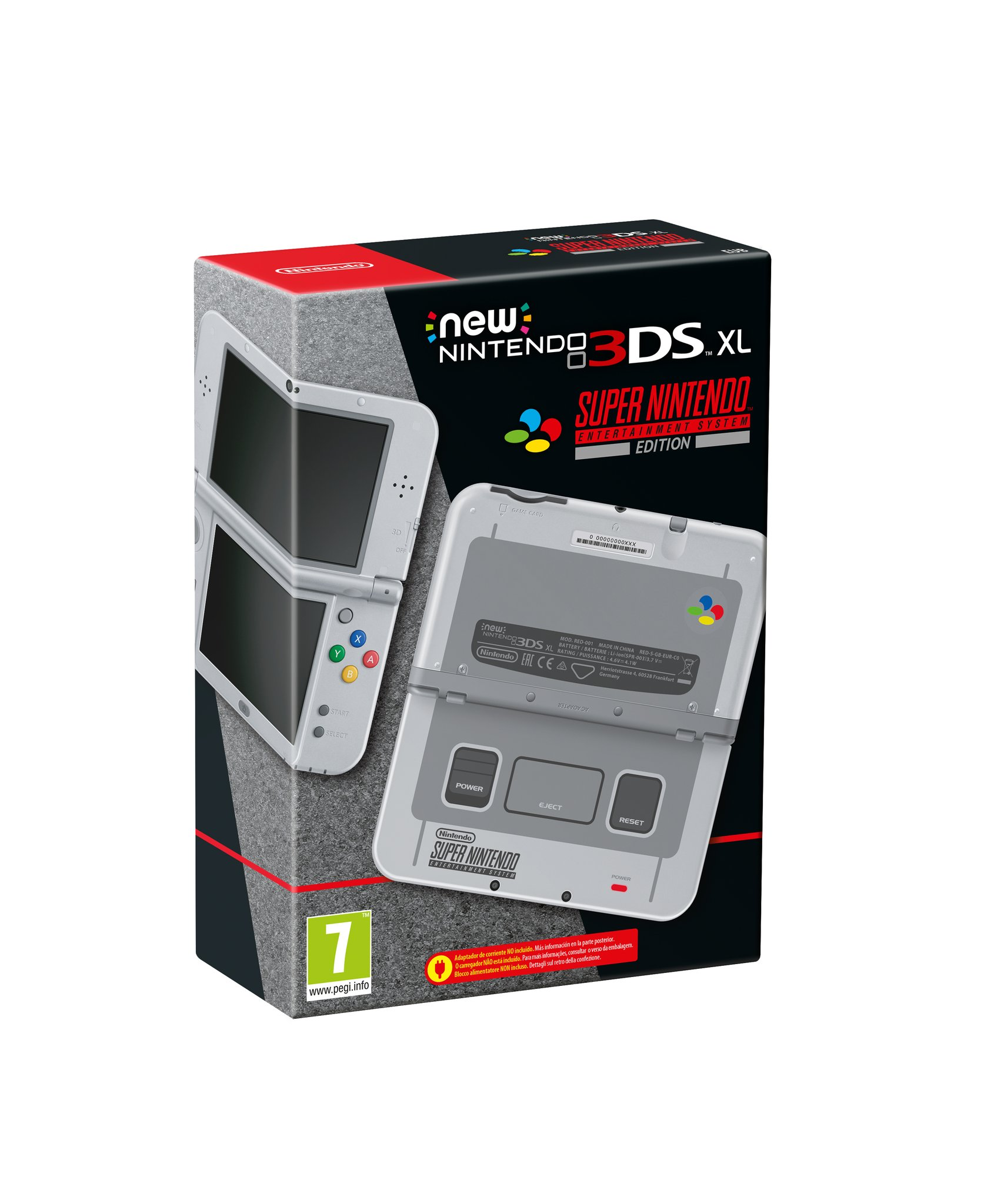 New Nintendo 3DS XL Super Nintendo Edition é anunciado na Europa