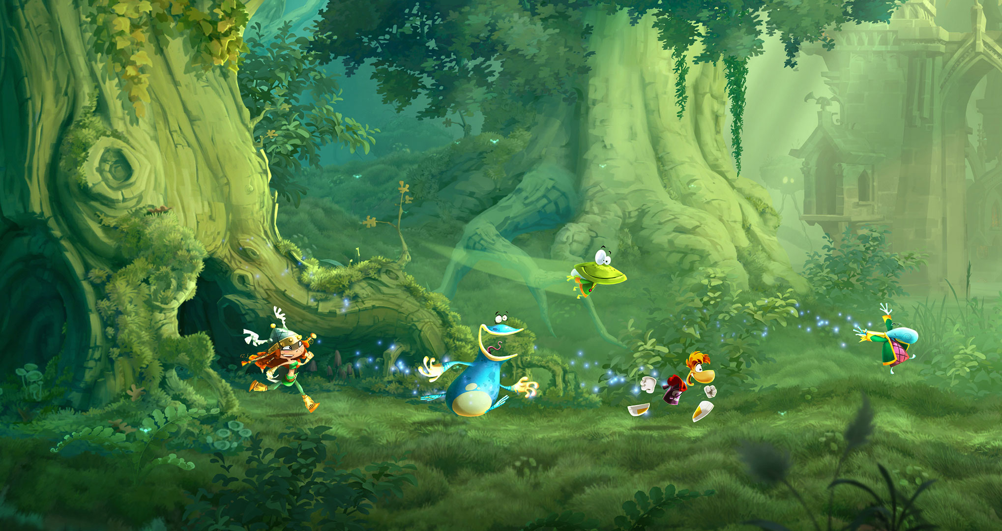 Demo de Rayman Legends Definitive Edition retorna à eShop européia