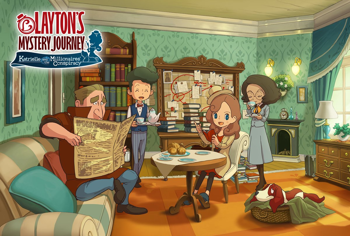 Layton's Mystery Journey: Katrielle and the Millionaires Conspiracy confirmado para a América do Norte; Detalhes