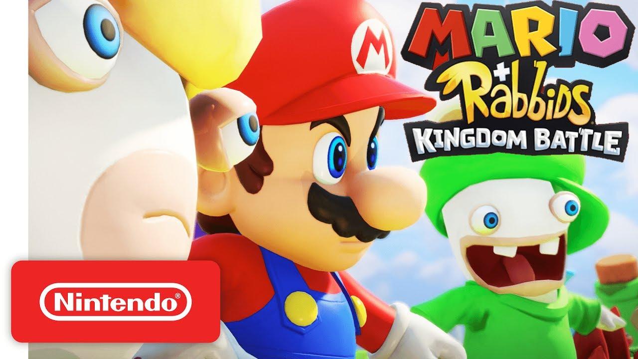 Notas que Mario+Rabbids Kingdom vêm recebendo