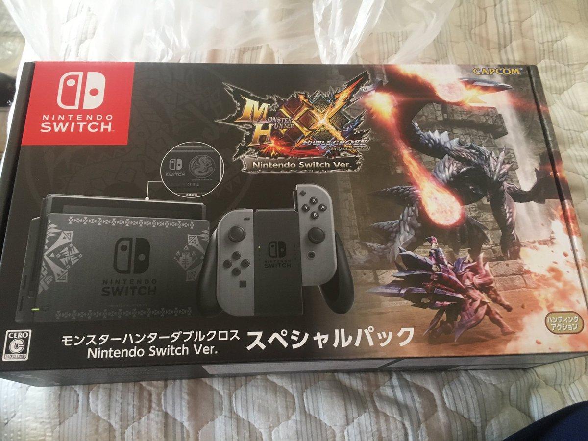 Fotos do Nintendo Switch Edição Especial de Monster Hunter XX