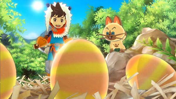 Primeira hora com o gameplay de Monster Hunter Stories [3DS]