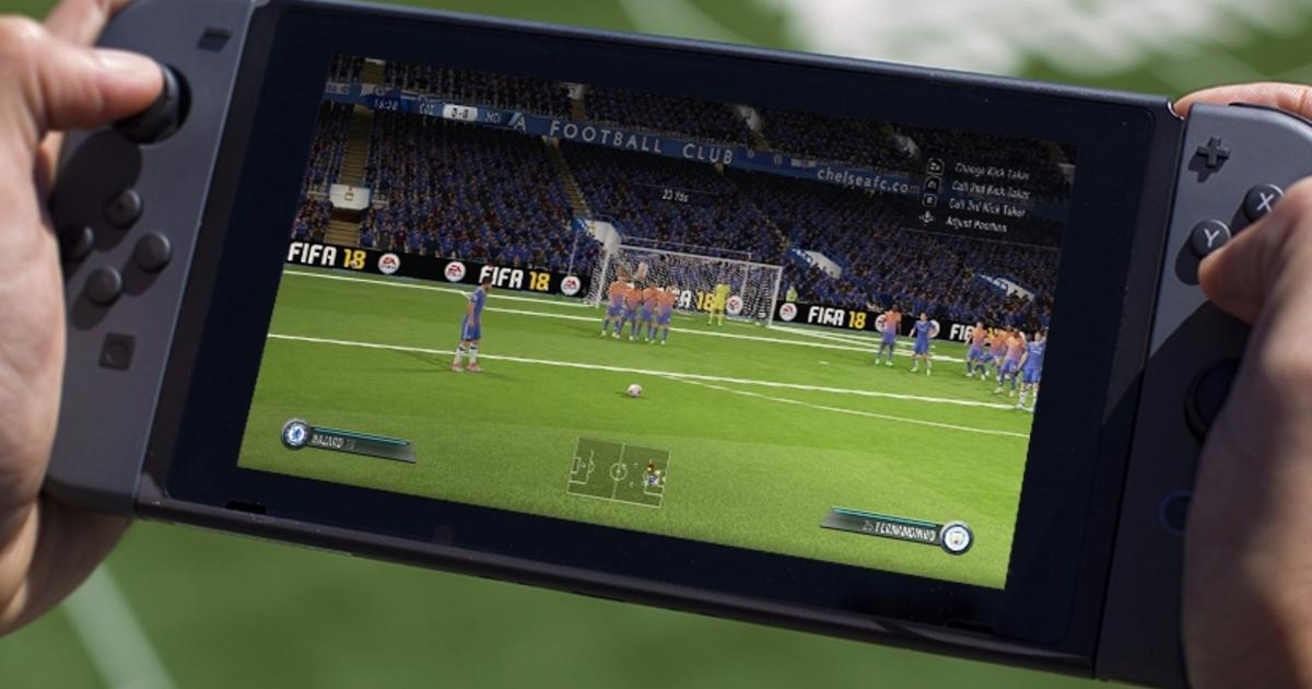 FIFA 18 para Nintendo Switch atualmente não deixa jogar online com amigos