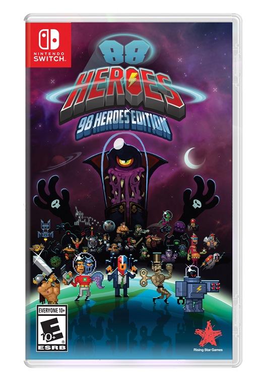88 Heroes chega oficialmente mês que vem ao Switch