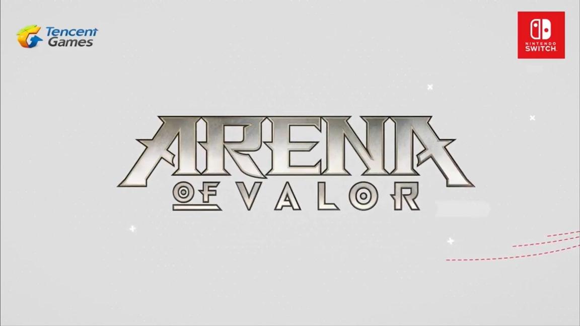 Tencent Games anuncia o MOBA Arena of Valor para o Nintendo Switch; Beta teste chega neste inverno