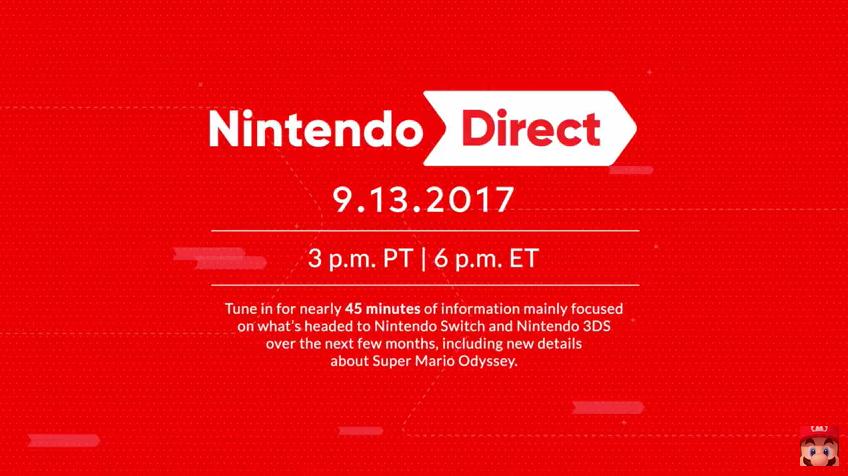 Acompanhe ao vivo ao Nintendo Direct a partir das 19h
