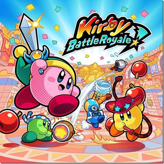 Kirby Battle Royale será lançado para 3DS em janeiro