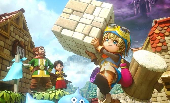Dragon Quest Builders será lançado para Switch