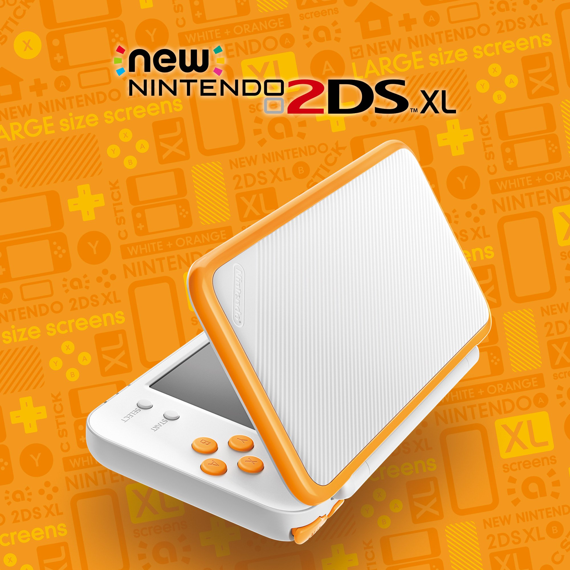 Cor laranja do New Nintendo 2DS XL será lançado para América do Norte  no próximo mês