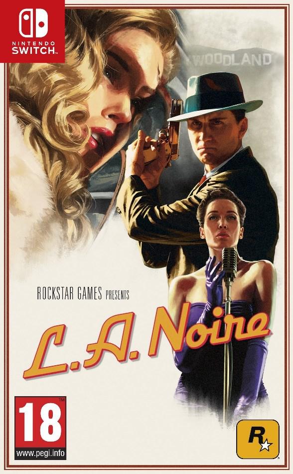 Boxart de L.A. Noire; Vai custar $10 a mais no Switch