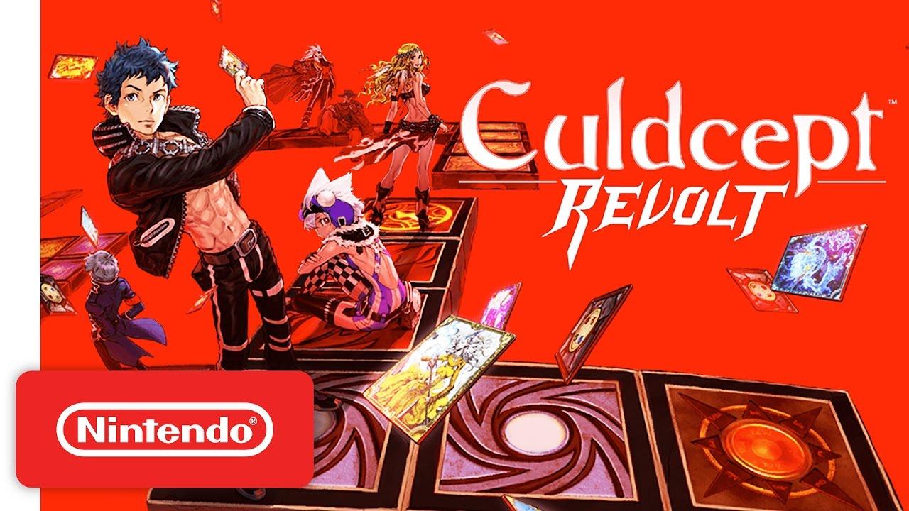 Novo trailer de Culdcept Revolt mostrando o multiplayer do jogo [3DS]