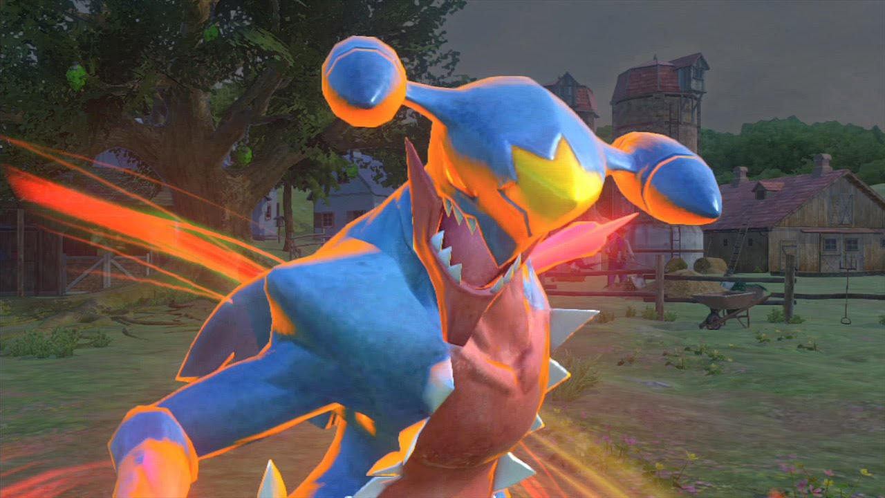 Pokkén Tournament DX – Novo trailer japonês  apresentando Garchomp
