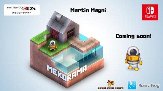 Pequena mostra do futuro jogo de Switch, Mekorama