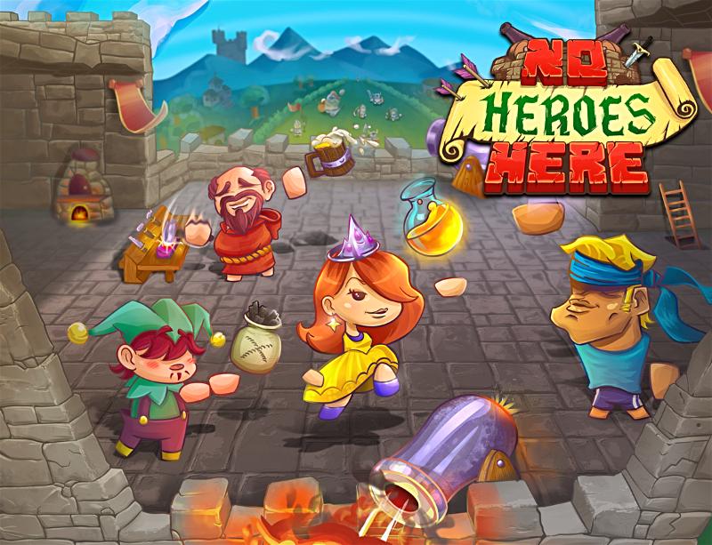 Futuro jogo de Switch, No Heroes Here foi anunciado