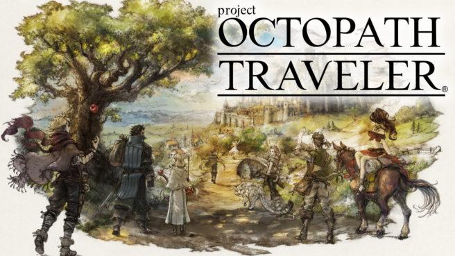 Exclusivo de Switch, demo de Project Octopath Traveler já está disponível; tamanho do arquivo