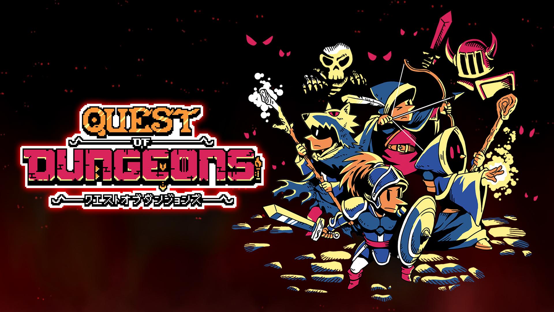 [Switch] Quest of Dungeons chega ao ocidente na próxima semana através da eShop