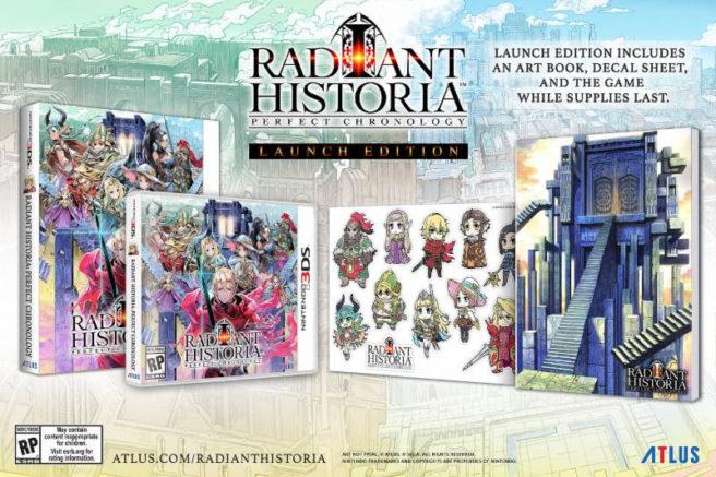 Novo trailer em inglês de Radiant Historia: Perfect Chronology; Launch Edition é revelada [3DS]