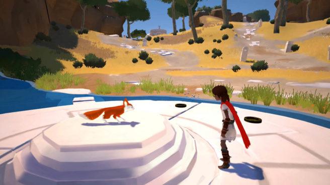 22 minutos off-screen do futuro jogo de Switch, Rime