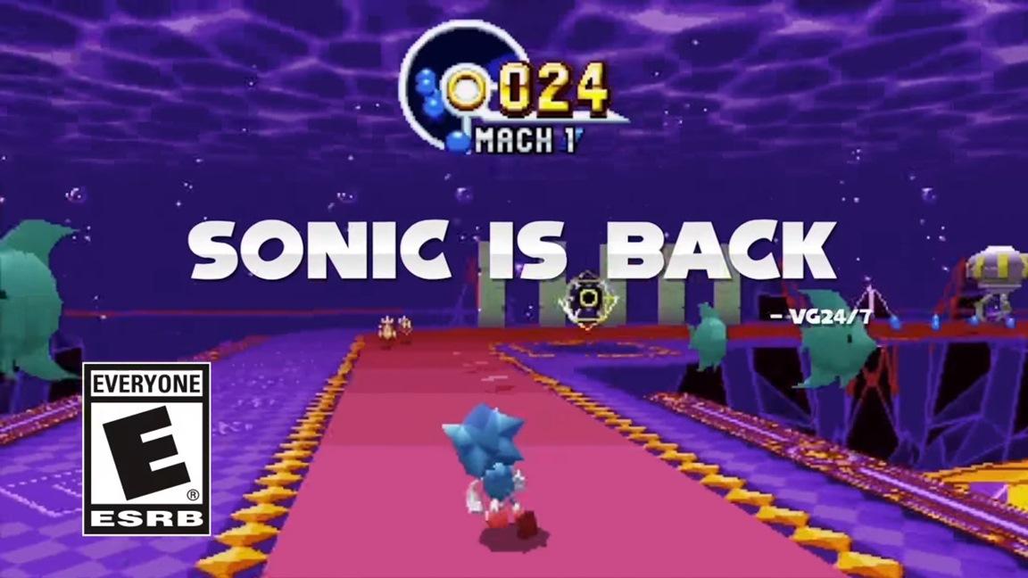 Novo trailer de Sonic Mania – Elogios