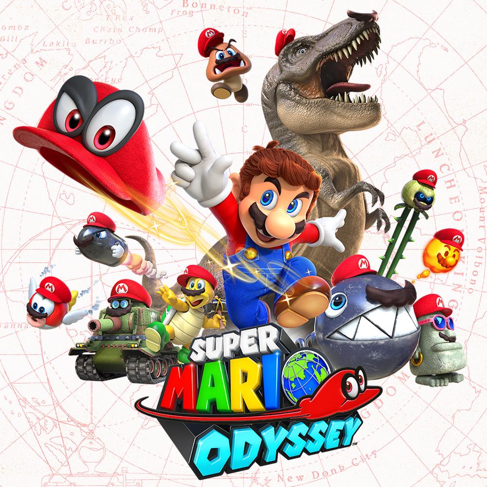 Super Mario Odyssey – Foi revelado quanto de espaço o jogo irá ocupar no Nintendo Switch