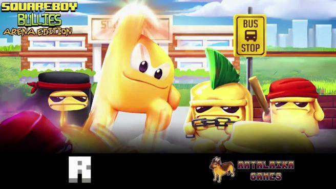Ratalaika Games anuncia Squareboy vs Bullies para o Nintendo Switch e Nintendo 3DS