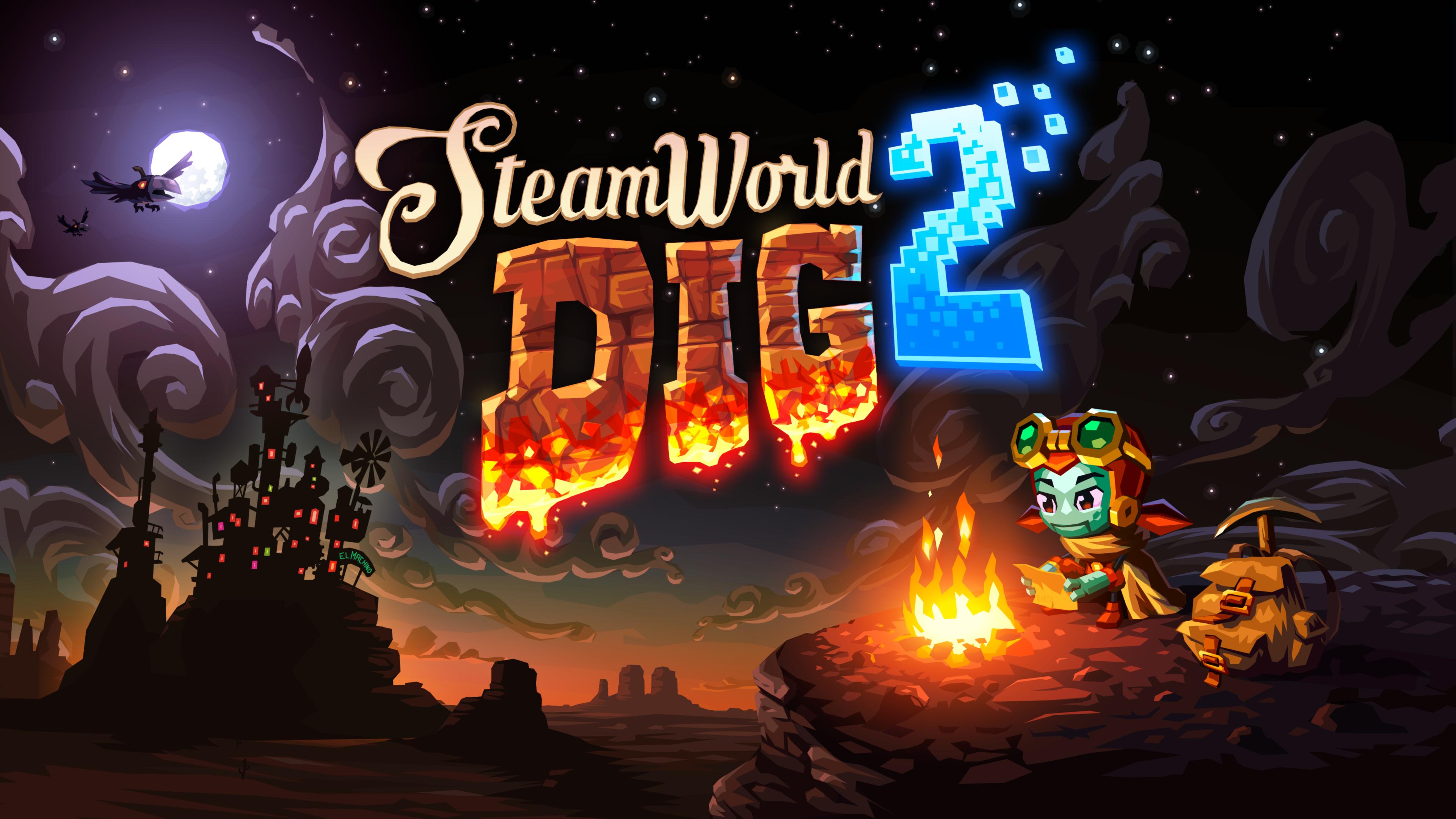 Image & Form libera um novo trailer de SteamWorld Dig 2  para o Nintendo Switch
