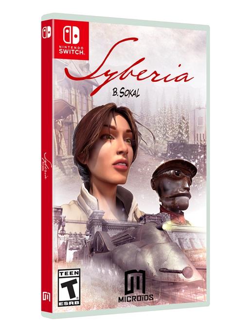 Syberia chega ao Switch dia 20 de outubro
