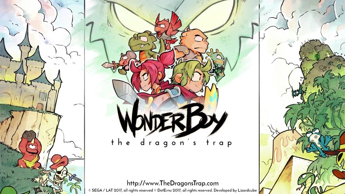 Wonder Boy: The Dragon's Trap vende mais no Switch que em todas as outras plataformas combinadas