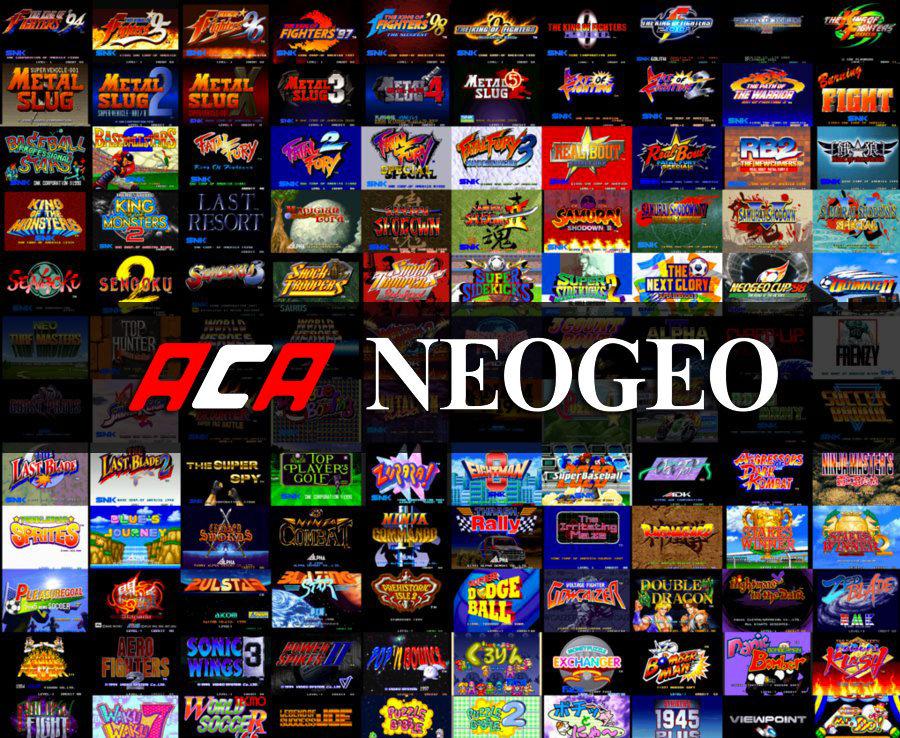 Confirmada a nova onda de jogos de NEOGEO para Switch