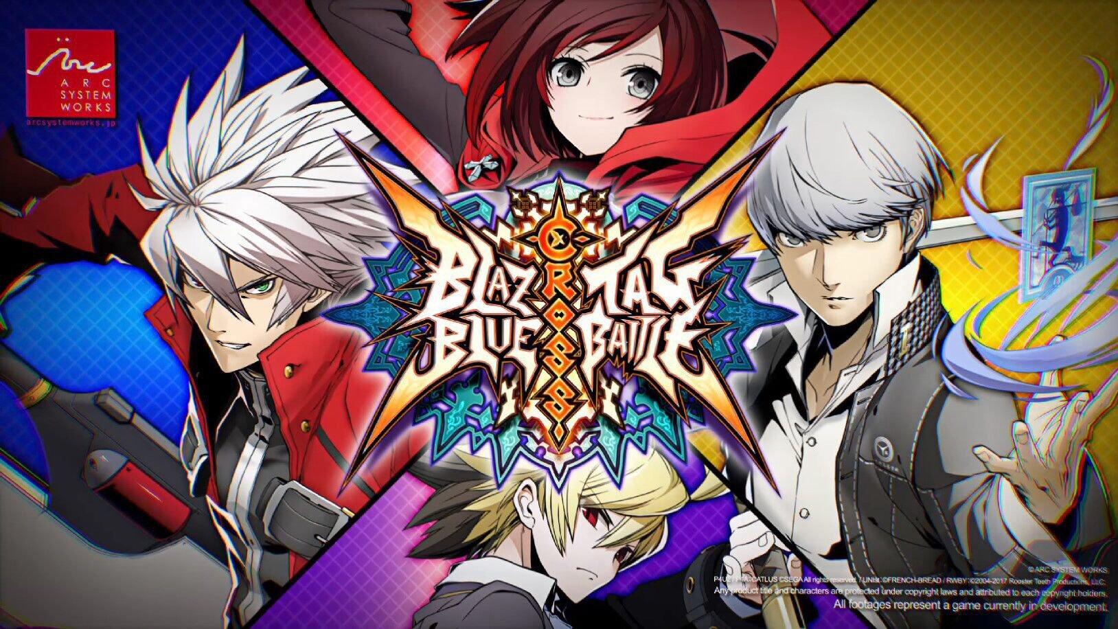 BlazBlue: Cross Tag Battle será lançado para o Switch; Jogo chega em 2018
