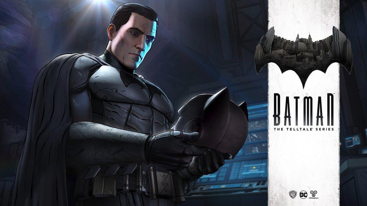 Batman: The Telltale Series ganha data de lançamento