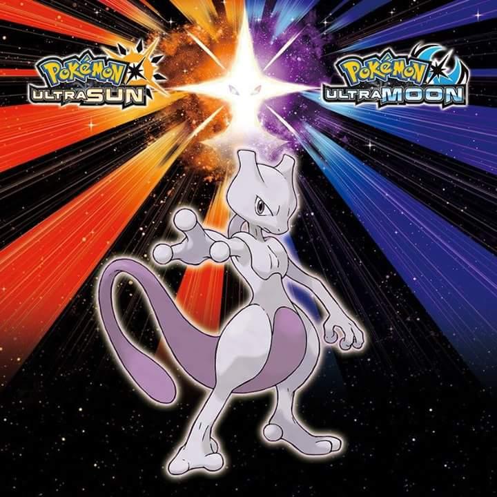 Pokémon Ultra Sun & Pokémon Ultra Moon – Mewtwo e vários outros lendários serão capturaveis no jogo