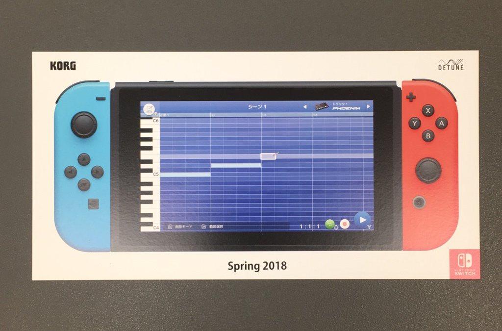 Software de produção de música KORG Gadget estará chegando ao Nintendo Switch