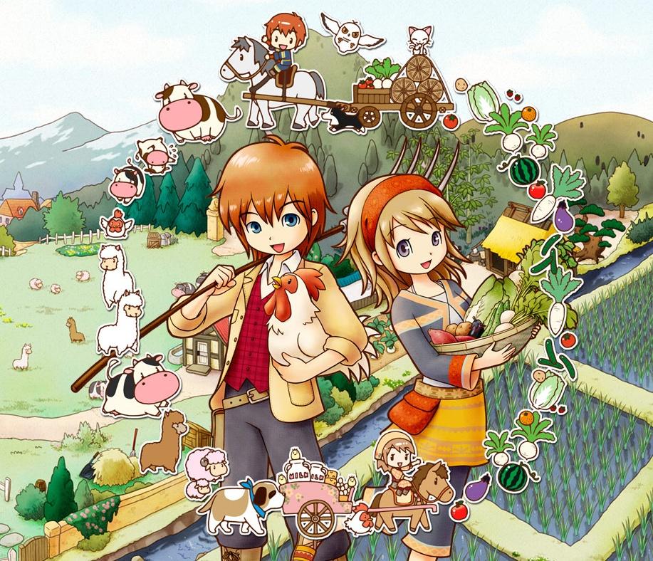 Harvest Moon: The Tales of Two Towns+ é anunciado para o Nintendo 3DS