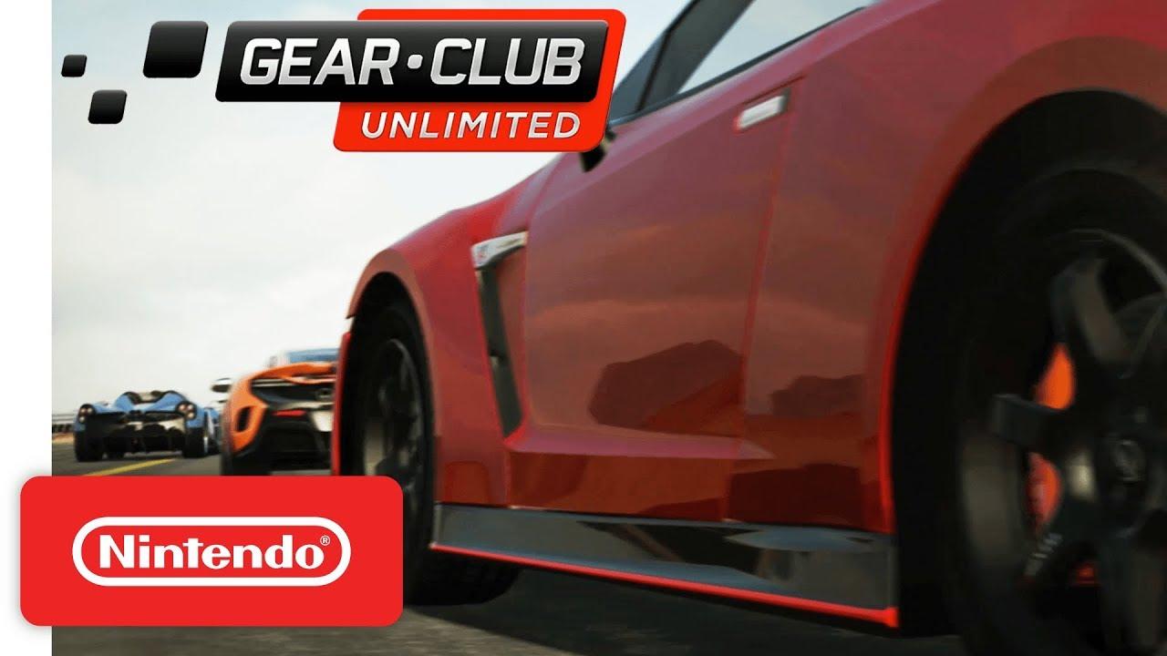 Novo trailer japonês de Gear.Club Unlimited para Nintendo Switch