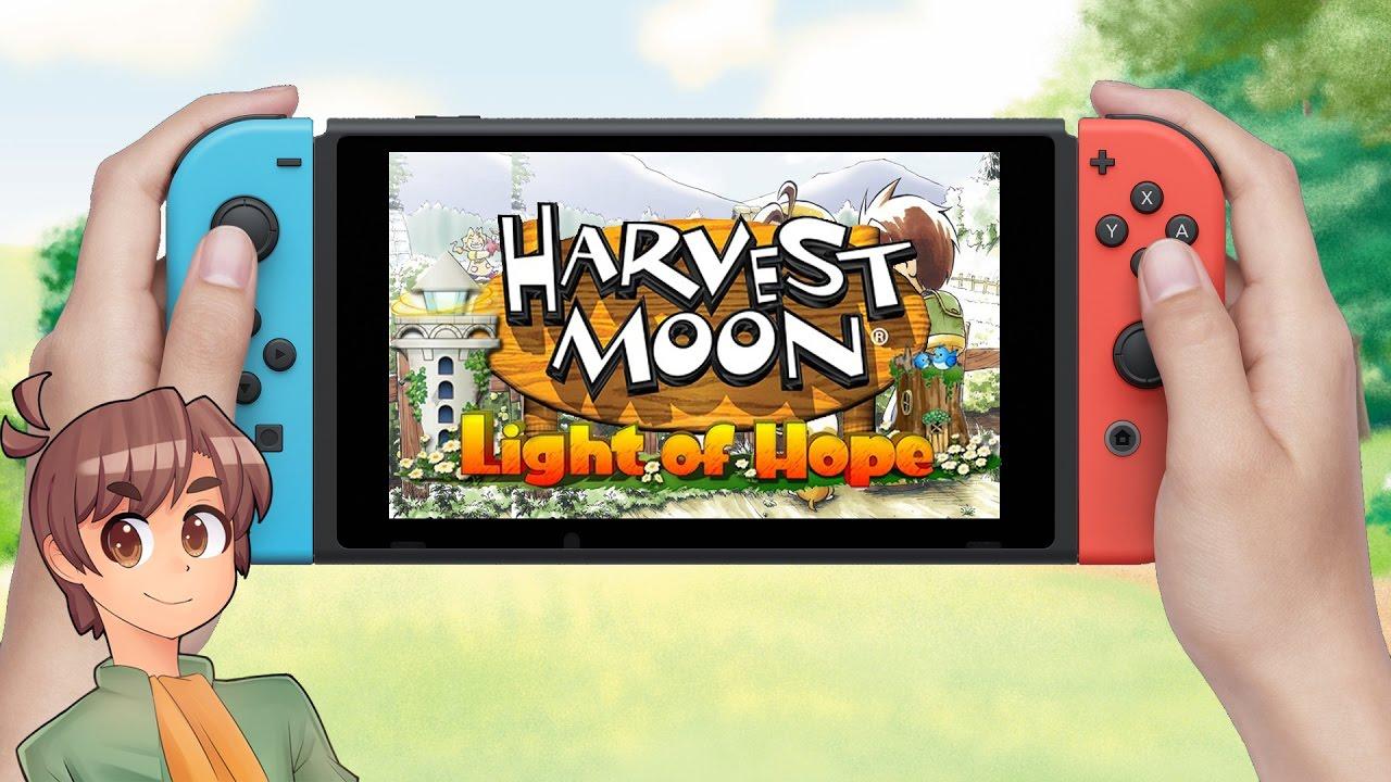 Futuro jogo de Switch, Harvest Moon: Light of Hope recebe novo trailer e imagens
