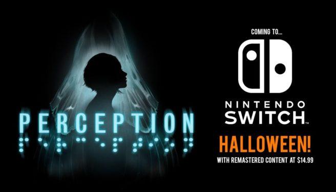 Perception será lançado no Halloween para o Switch