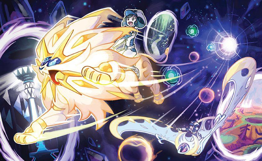 Pokémon Ultra Sun e Pokémon Ultra Moon –  Explore o Ultra buraco de minhoca, Ultra Recon Squad, nova Ultra Beast e mais