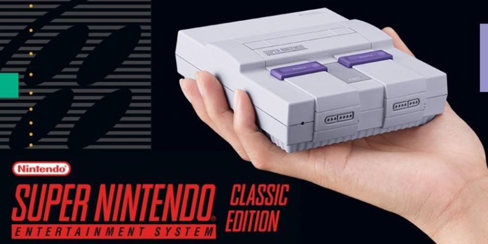 Nintendo enviou mais de 1.7 milhões de unidades do SNES Classic em todo o mundo, até o dia 30 de setembro