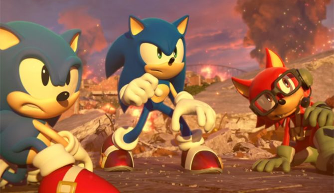 Sonic Forces ganha trailer de Lançamento  [SWITCH]