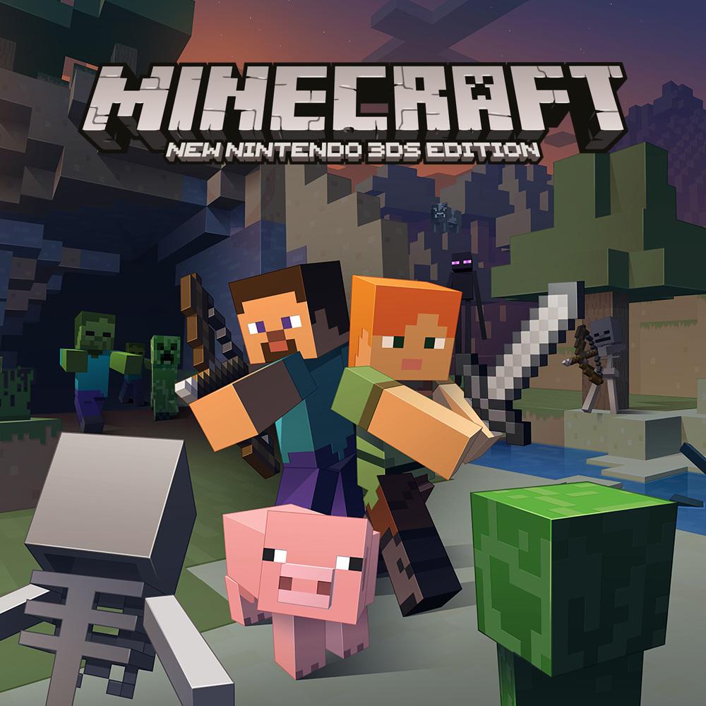 Versão física de Minecraft: New 3DS Edition chega em novembro na América do Norte