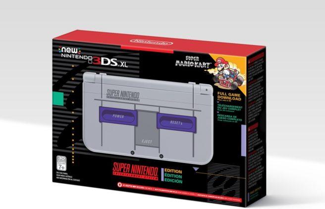 New Nintendo 3DS XL – Super NES Edition irá chegar na América do Norte