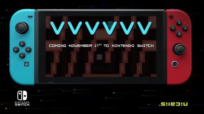 VVVVVV está confirmado para Nintendo Switch