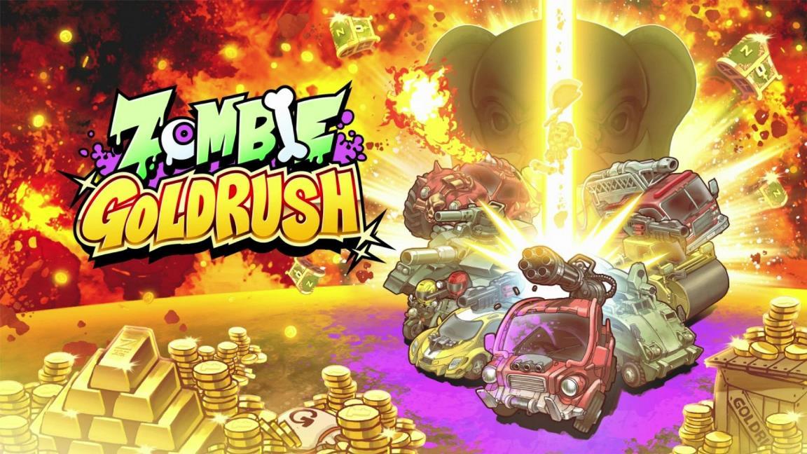 Zombie Gold Rush chega em breve na eShop do Nintendo Switch