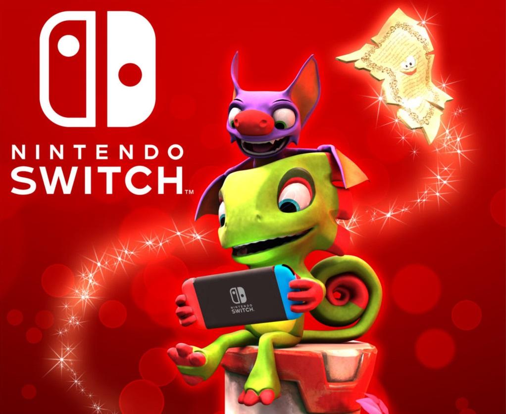 Playtonic responde sobre o porquê de está lançando Yooka-Laylee apenas como título digital no Switch
