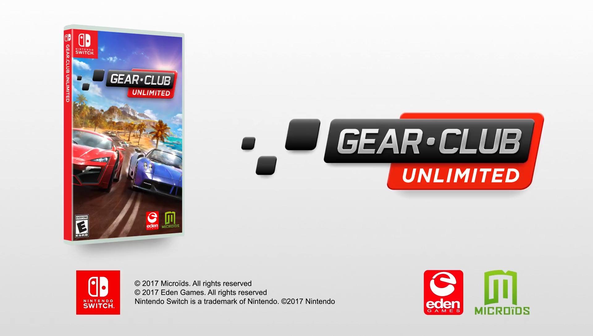 Gear.Club Unlimited ganha trailer de lançamento [Switch]