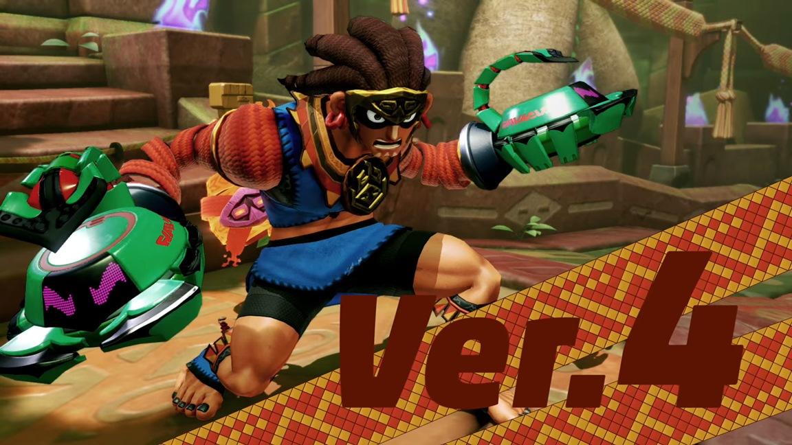 ARMS – Nintendo revela novo lutador em sua última atualização